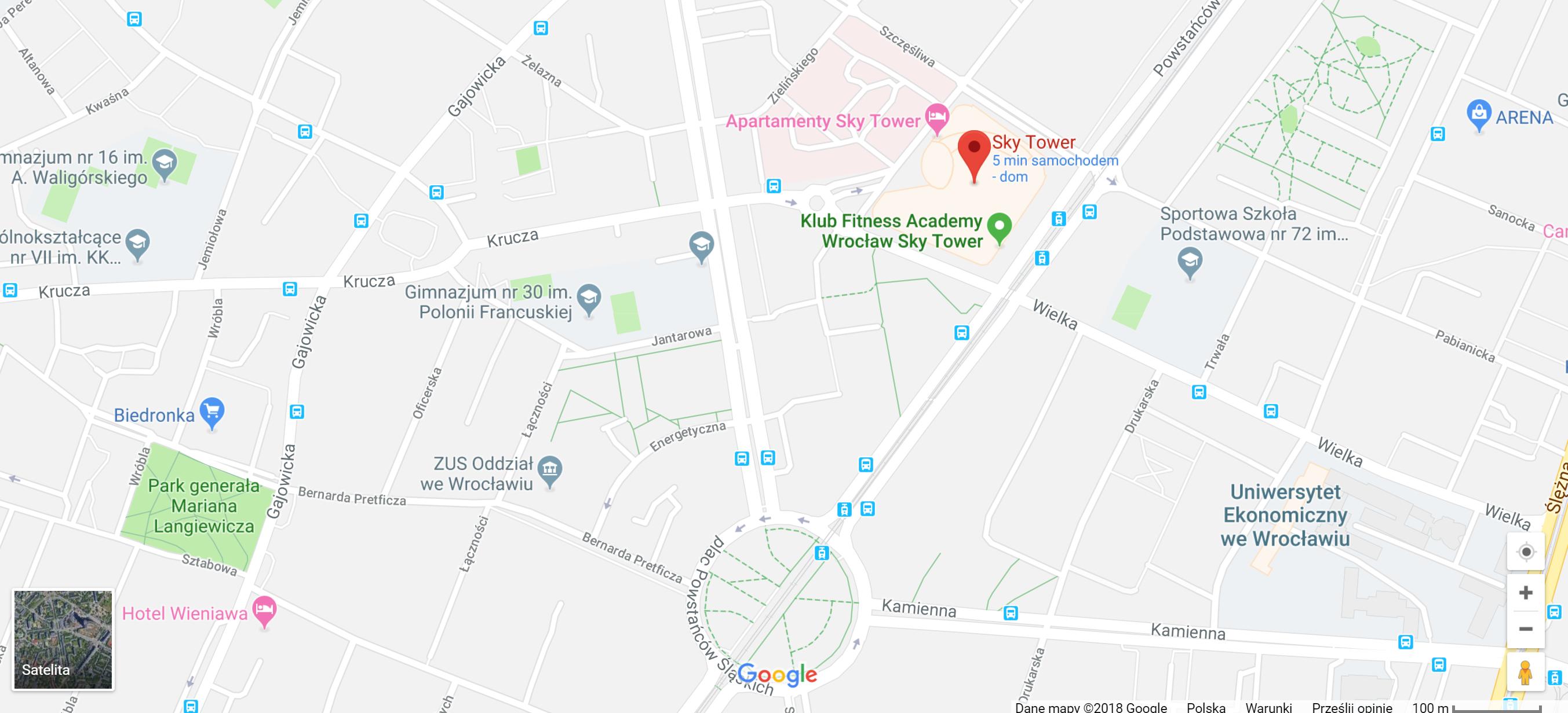 Gabinet Stomatologiczny lokalizacja